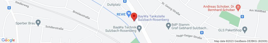 BayWa AG Sulzbach-Rosenberg Anfahrt