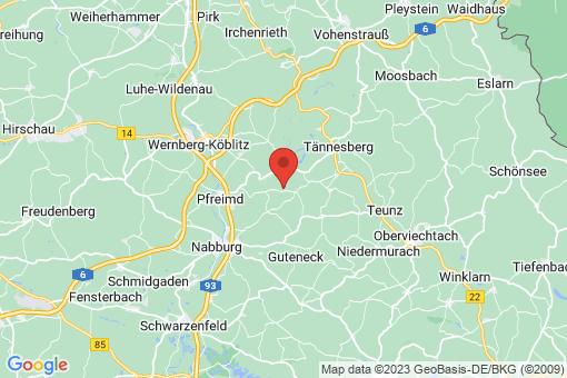 Karte Pfreimd Hohentreswitz