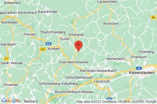 Karte Matzenbach