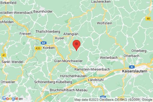 Karte Neunkirchen am Potzberg