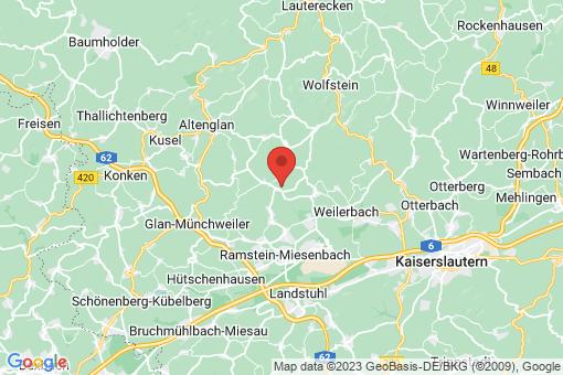 Karte Reichenbach-Steegen