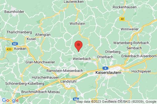 Karte Erzenhausen