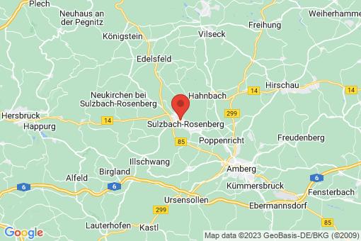 Karte Sulzbach-Rosenberg