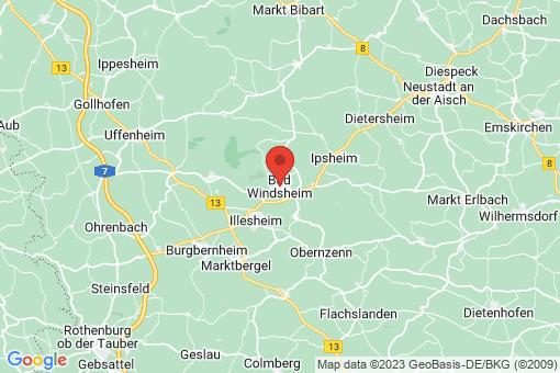 Karte Bad Windsheim