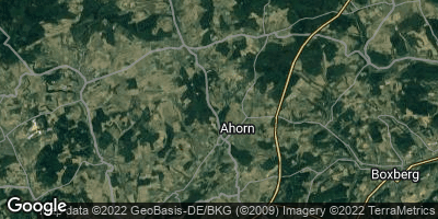 Google Map of Ahorn