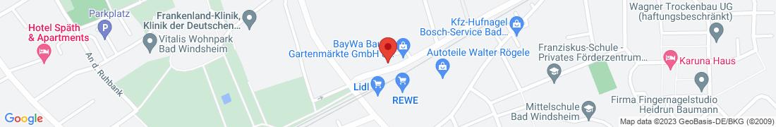 BayWa AG Bad Windsheim Anfahrt