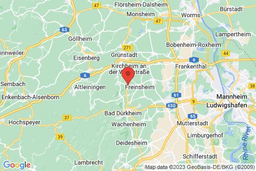 Karte Herxheim am Berg
