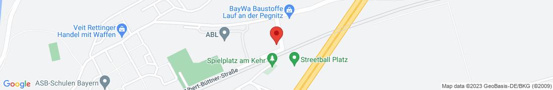 BayWa Baustoffe Lauf (Pegnitz) Anfahrt
