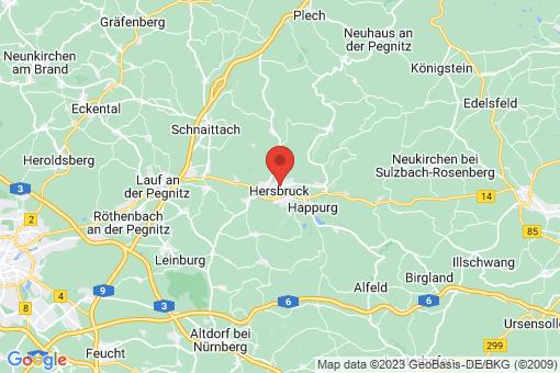 Karte Hersbruck