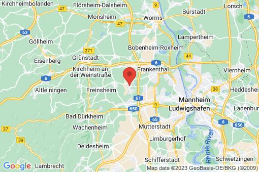 Karte Lambsheim