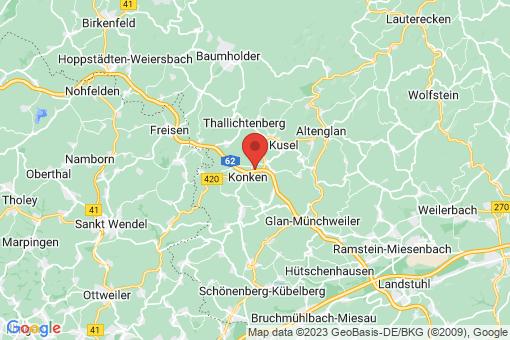 Karte Ehweiler