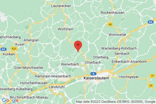 Karte Sulzbachtal