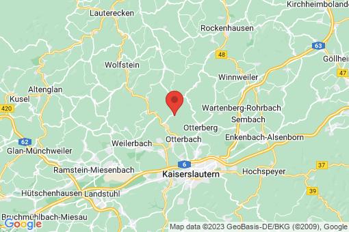 Karte Mehlbach