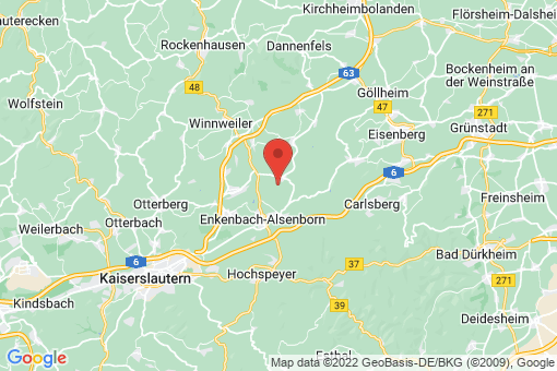 Karte Neuhemsbach