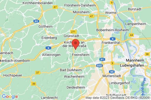 Karte Dackenheim