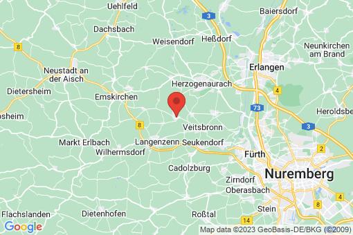 Karte Puschendorf