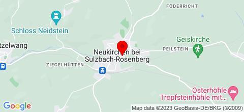 Google Map für Ferienwohnung Rotheigner Sulzbach Rosenberg