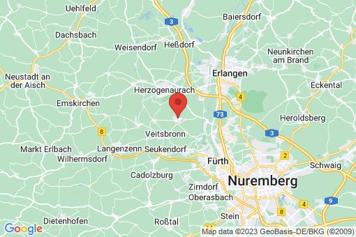 Karte Obermichelbach