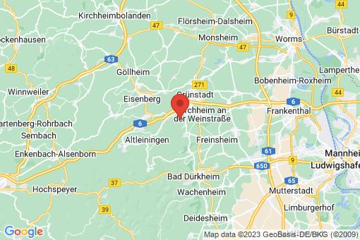 Karte Battenberg (Pfalz)