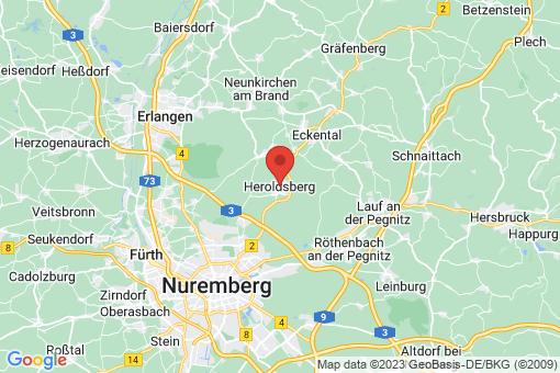 Karte Heroldsberg