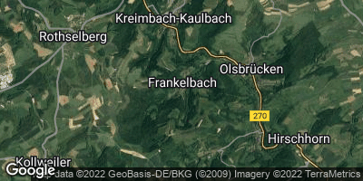 Google Map of Frankelbach