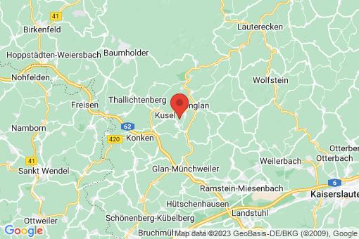 Karte Haschbach am Remigiusberg