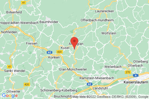 Karte Rutsweiler am Glan