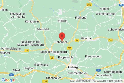 Karte Hahnbach