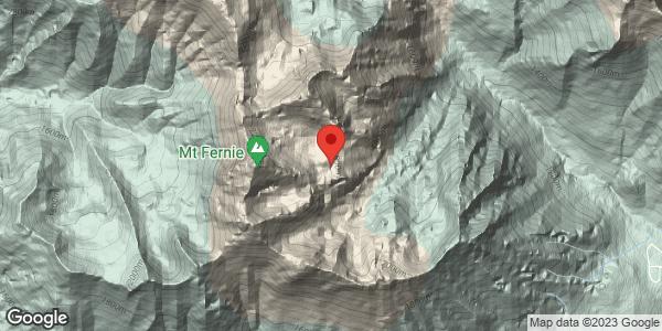 Stormy Mount Fernie