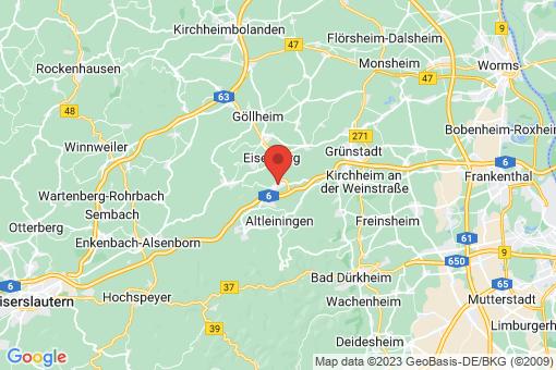 Karte Hettenleidelheim