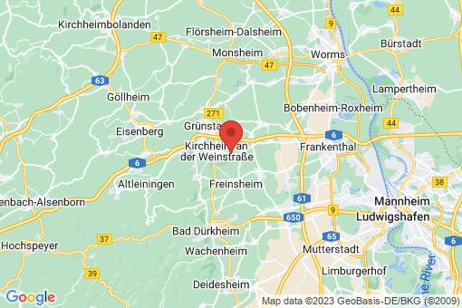 Karte Bissersheim