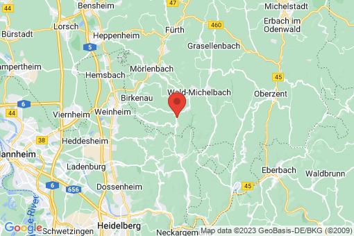 Karte Abtsteinach
