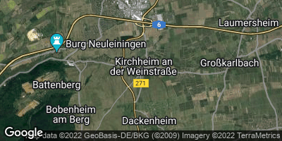 Google Map of Kirchheim