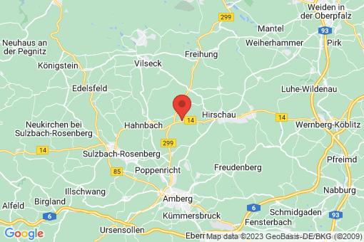 Karte Gebenbach