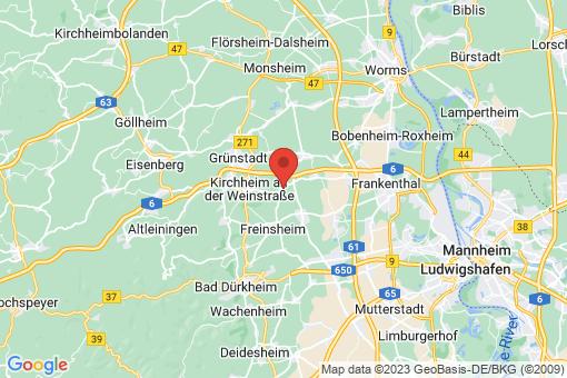 Karte Großkarlbach