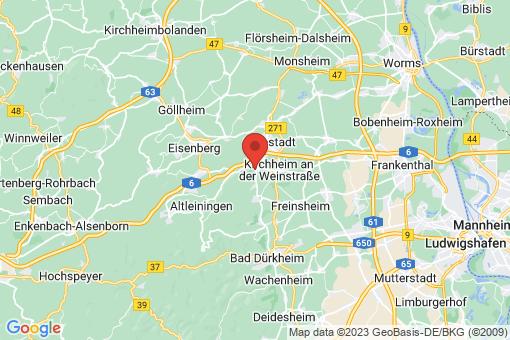Karte Kleinkarlbach