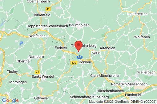 Karte Pfeffelbach