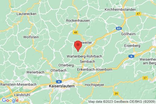 Karte Potzbach