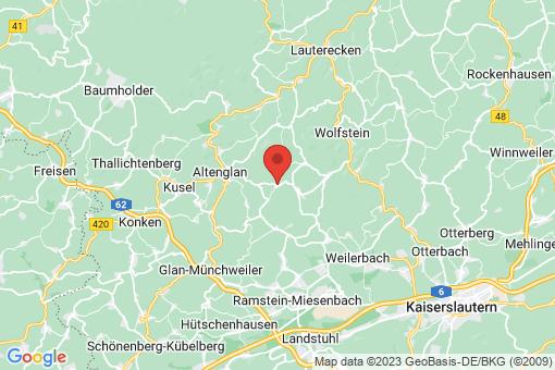 Karte Bosenbach