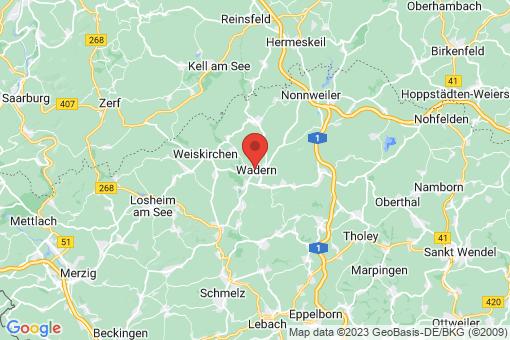 Karte Wadern