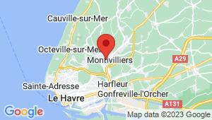 Carte de localisation du centre de contrôle technique MONTIVILLIERS