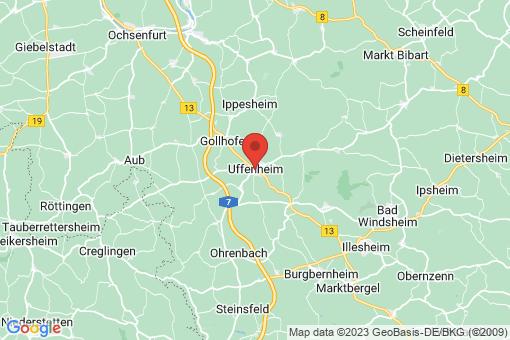 Karte Uffenheim