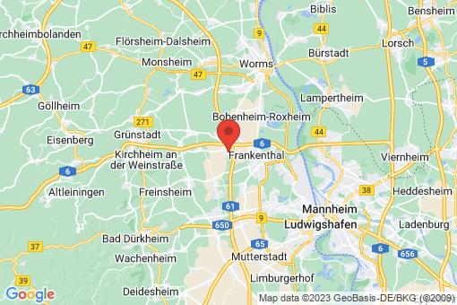 Karte Heßheim