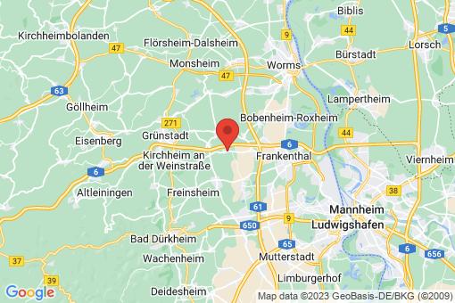 Karte Gerolsheim