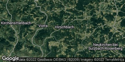 Google Map of Hirschbach
