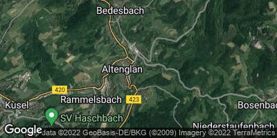 Google Map of Altenglan