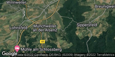 Google Map of Gonbach