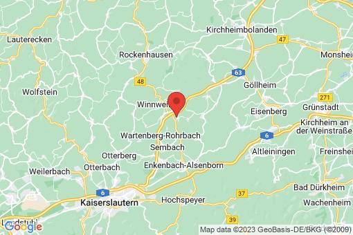 Karte Münchweiler an der Alsenz