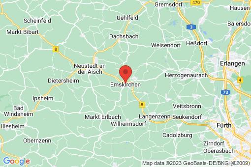 Karte Emskirchen