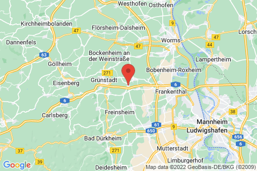 Karte Laumersheim